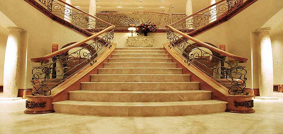 Travertine Stair steps